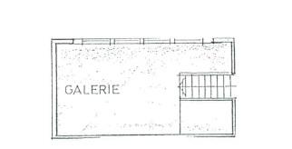 Grundriss Galerie Spitzboden