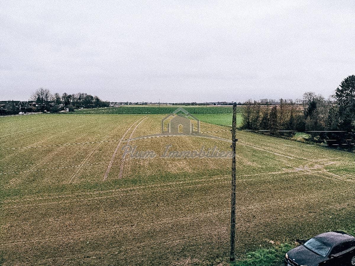 herrliche Aussicht auf die angenzenden Felder