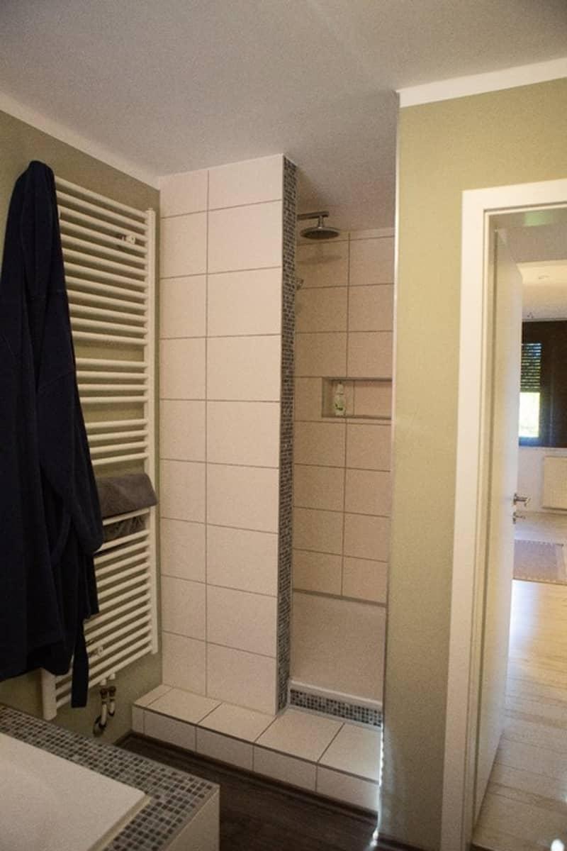 Duschbereich im Badezimmer