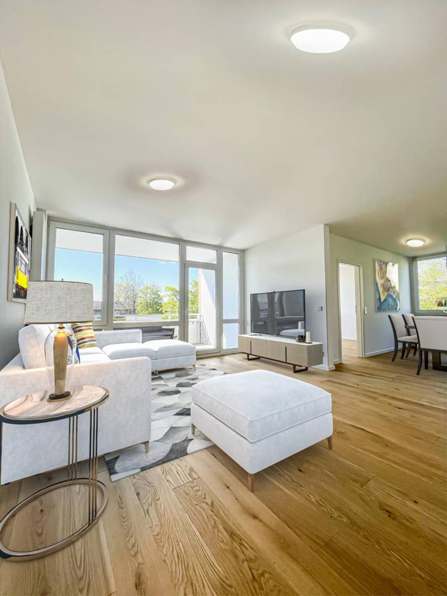 Wohn-und Essbereich - Home Staging